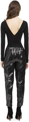 Alice + Olivia STACEY SEQUIN PULL UP PANT