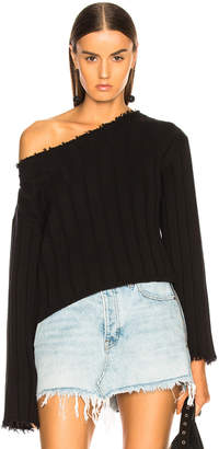 Alexander Wang Off Shoulder Sweater