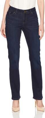 Lee Women's Modern Series Curvy Straight Leg Jean with Hidden Pocket