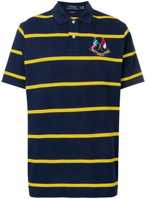 Polo Ralph Lauren crossed flags polo shirt