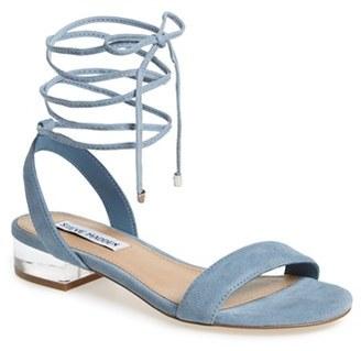 Women's Steve Madden 'Carolyn' Lace-Up Sandal $79.95 thestylecure.com