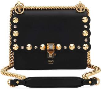 Fendi Mini Kan I Studs Shoulder Bag