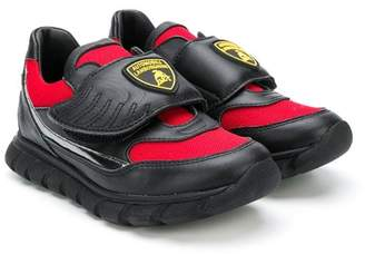 Bumper Lamborghini patch sneakers