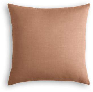 Loom Decor Throw Pillow Classic Linen - Terra Cotta