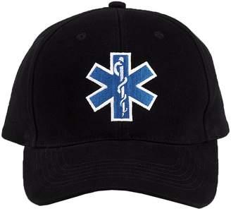 Rothco Black EMS Insignia Hat Cap Adjustable