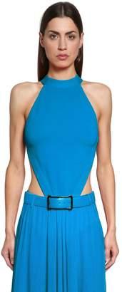 Elie Saab Lvr Edition Open Back Knit Bodysuit
