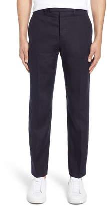 French Connection Slim Fit Linen Suit Pants