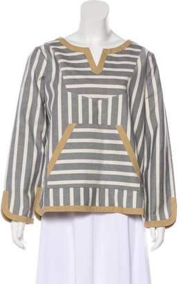Kule Striped V-Neck Tunic w/ Tags
