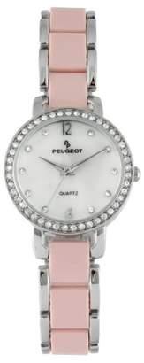 Peugeot Women's 7083PK Analog Display Japanese Quartz Pink Watch