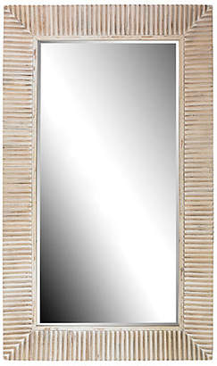 One Kings Lane Cassandra Floor Mirror - Natural