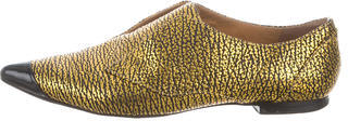 3.1 Phillip Lim3.1 Phillip Lim Embossed Pointed-Toe Loafers