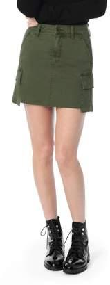 Joe's Jeans Military High Waist Twill Miniskirt