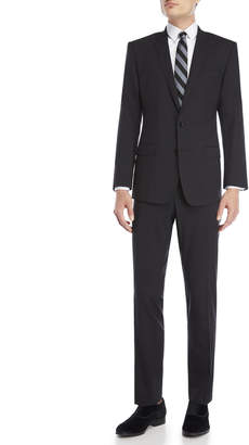 Dolce & Gabbana Two-Piece Black Wool Suit