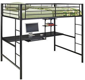 Viv + Rae Maurice Full Loft Bed with Workstation