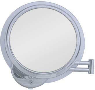 Zadro 20-Inch 7x Mag Surround Lighted Fluorescent Dual Arm Extension Wall Mirror, Finish