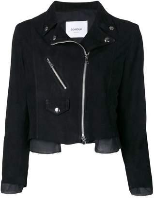 Dondup cropped biker jacket