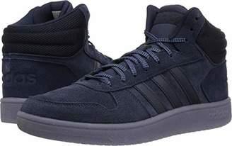 adidas Men's Hoops 2.0 Mid Sneaker Legend tech Ink