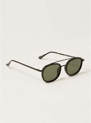 Topman Mens Black QUAY 'Got It Covered' Sunglasses*