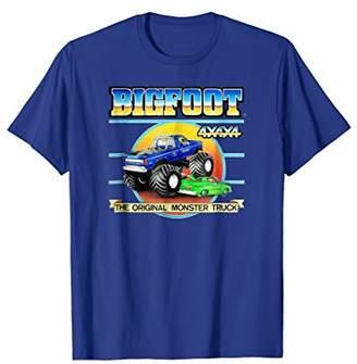 Retro BIGFOOT 4x4x4 The Original Monster Truck T-Shirt