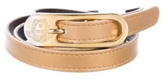 Gianni Versace Embellished Leather Belt