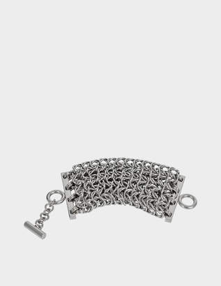 Alexander Wang 4 Row Box with chain bracelet