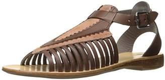 H By Hudson Women's Pansy Multi Flat Sandal