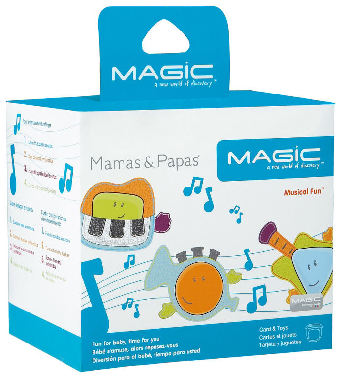 Mamas and Papas MAGIC Card Musical Fun
