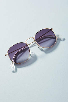 Anthropologie Hailey Round Sunglasses
