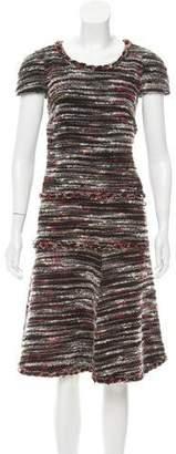 Chanel Wool-Blend Bouclé Dress