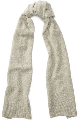Polo Ralph Lauren Shetland Wool-Blend Scarf $198 thestylecure.com