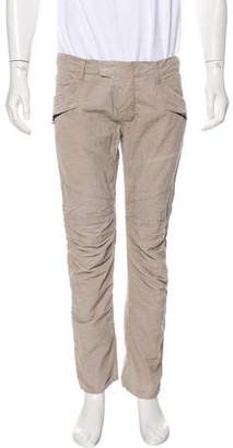 Balmain Corduroy Moto Pants