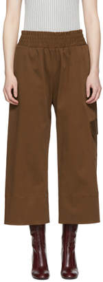 Nomia Brown Gathered Culottes
