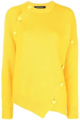 Cédric Charlier button embellished jumper