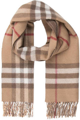 Burberry Wool Check Scarf $125 thestylecure.com