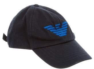 Armani Junior Boys' Logo Baseball Cap