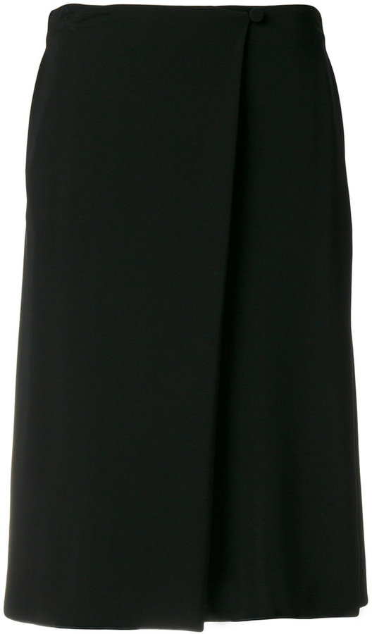 Armani Collezioni pleated midi skirt