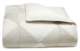 Hotel Collection Diamond Embroidery Cotton Duvet Cover