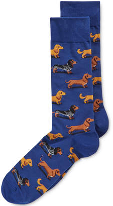 Hot Sox Men's Dachshunds Printed Socks $12 thestylecure.com