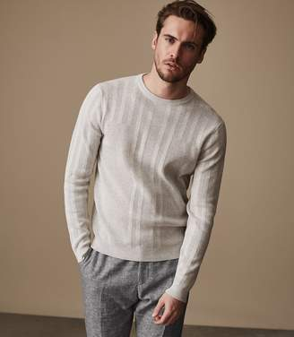 Reiss GRANVILLE Textured jumper