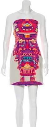 Mara Hoffman Strapless Mini Dress
