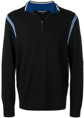 MICHAEL Michael Kors striped trim jumper