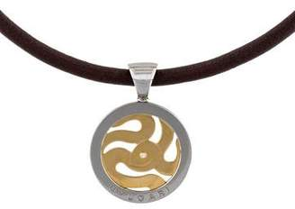 Bvlgari Diamond Tondo Serpenti Pendant Necklace