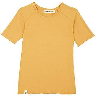 Lennon + Wolfe Kids' Dylan Supima® Cotton-Blend Jersey T-Shirt - Gold