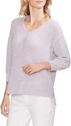 Vince Camuto V-Neck Marled Sweater