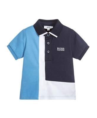 HUGO BOSS Kids Cut And Sew Polo