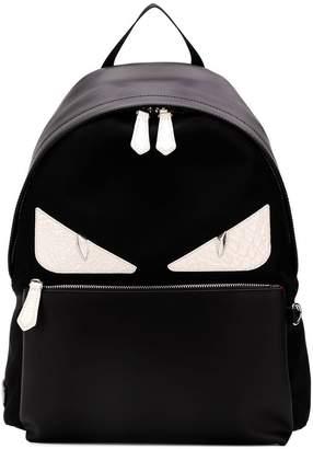 Fendi eyes printed backpack
