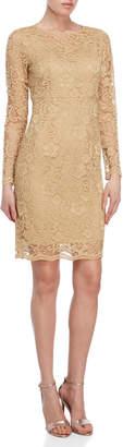 Nanette Lepore Nanette Kalessi Long Sleeve Lace Dress