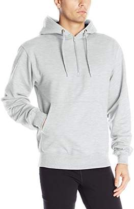 Champion Men's Heavy Weight Quarter-Zip Fleece Hoodie