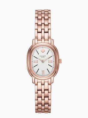 Kate Spade Staten rose gold-tone bracelet watch