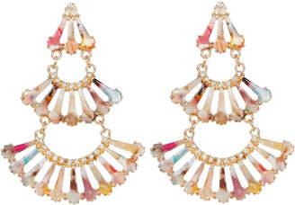 Noir Rainbow Tiered Earrings